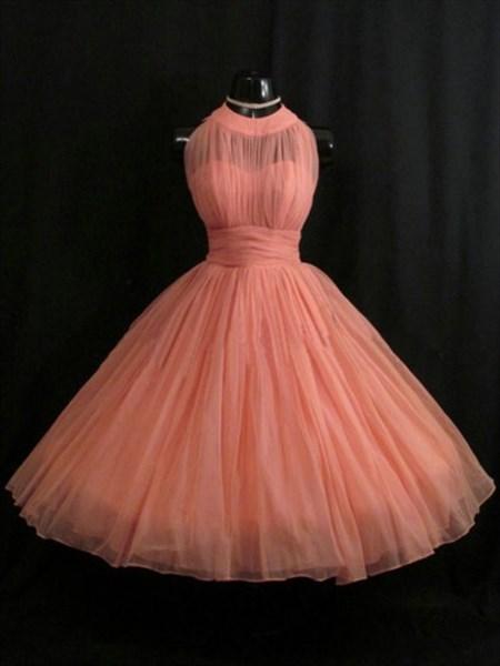 Cute Simple Sleeveless Empire Waist A-Line Chiffon Homecoming Dress