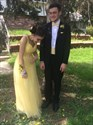 A-Line Yellow Sleeveless Sweetheart Neckline Beaded Tulle Prom Dress