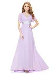 Lilac Mother Of The Bride Dresses,Lavender Mother Of The Bride Dresses With Cap Sleeves