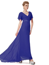 Royal Blue Mother Of The Bride Groom Dress, Mother Of The Bride Dresses Floor Length Royal Blue