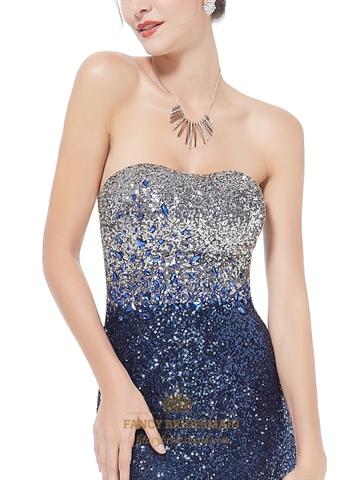 Sparkly Sequin Long Prom Dresses 2016 Glitter Women S