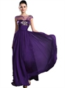 Champagne Strapless Taffeta Dropped Waist Prom Dress With Pick Up Skirt