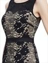 Elegant Black Mermaid Prom Dress With Lace Applique